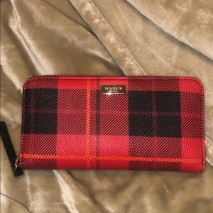 Kate Spade Red Plaid Wallet